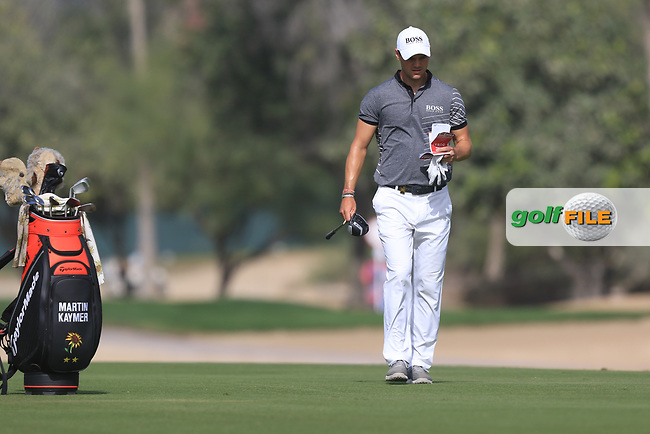 Martin Kaymer (GER) on the 3rd during Round 3 of the Omega Dubai Desert Classic, Emirates Golf Club, Dubai,  United Arab Emirates. 26/01/2019<br /> Picture: Golffile | Thos Caffrey<br /> <br /> <br /> All photo usage must carry mandatory copyright credit (&copy; Golffile | Thos Caffrey)