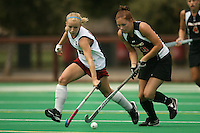 STANFORD, CA - AUGUST 19:  Marlana Shile of the Stanford Cardinal during Stanford's 4-1 exhibition win over the University of the Pacific on August 19, 2008 at the Varsity Field Turf in Stanford, California.