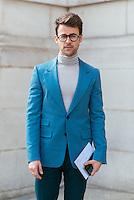 Brad Goreski at Paris Fashion Week (Photo by Hunter Abrams/Guest of a Guest)