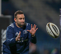 4th January 2020; RDS Arena, Dublin, Leinster, Ireland; Guinness Pro 14 Rugby, Leinster versus Connacht; Dave Kearney (Leinster) warms up before kickoff - Editorial Use