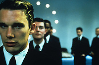 Gattaca (1997) <br /> Ethan Hawke<br /> *Filmstill - Editorial Use Only*<br /> CAP/KFS<br /> Image supplied by Capital Pictures