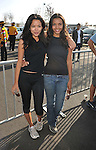 PACOIMA, CA. - October 10: Stephanie Jacobsen and Jessica Lucas arrive at The 2009 American Dream Walk To Benefit Habitat For Humanity at Lowe's Home Improvement on October 10, 2009 in Pacoima, California.