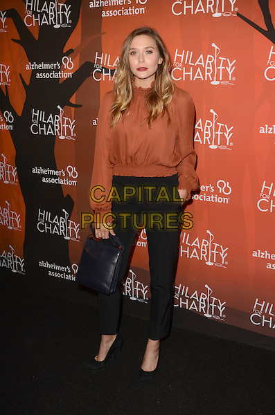 LOS ANGELES, CA - OCTOBER 15: Elizabeth Olsen at Hilarity for Charity's 5th Annual Los Angeles Variety Show: Seth Rogen's Halloween at Hollywood Palladium on October 15, 2016 in Los Angeles, California. Credit: David Edwards/MediaPunch<br /> CAP/MPI/DE<br /> &copy;DE/MPI/Capital Pictures