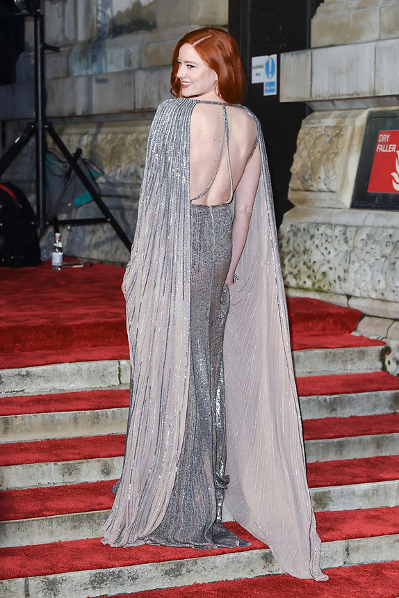 Barbara Meier<br /> arriving for the BAFTA Film Awards 2019 at the Royal Albert Hall, London<br /> <br /> ©Ash Knotek  D3478  10/02/2019
