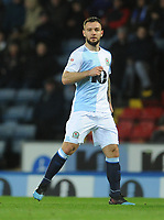 Blackburn Rovers' Adam Armstrong<br /> <br /> Photographer Kevin Barnes/CameraSport<br /> <br /> The EFL Sky Bet Championship - Blackburn Rovers v Wigan Athletic - Tuesday 12th March 2019 - Ewood Park - Blackburn<br /> <br /> World Copyright © 2019 CameraSport. All rights reserved. 43 Linden Ave. Countesthorpe. Leicester. England. LE8 5PG - Tel: +44 (0) 116 277 4147 - admin@camerasport.com - www.camerasport.com