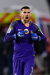 Goalkeeper Mathew Ryan of Australia reacts during the AFC Asian Cup UAE 2019 Round of 16 match between Australia (AUS) and Uzbekistan (UZB) at Khalifa Bin Zayed Stadium on 21 January 2019 in Al Ain, United Arab Emirates. Photo by Marcio Rodrigo Machado / Power Sport Images