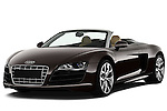 Front three quarter view of a 2010 - 2012 Audi R8 Spyder v10 2 Door Convertible.