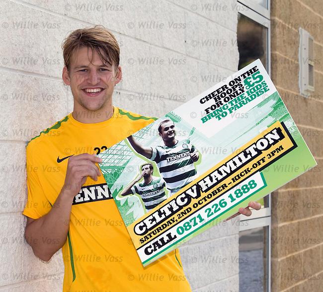 Glenn Loovens promotes Celtic tickets