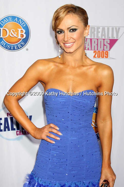 Karina Smirnoff.arriving at the 2009 Fox Reality Channel Really Awards.The Music Box at Fonda Theater.Los Angeles,  CA.October 13,  2009.©2009 Kathy Hutchins / Hutchins Photo.