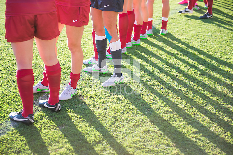 Stanford, Calif - Friday, August 28, 2015: Stanford Cardinal vs Boston College Eagles at Laird Q. Cagan Stadium. The Cardinal won the match 4-0.