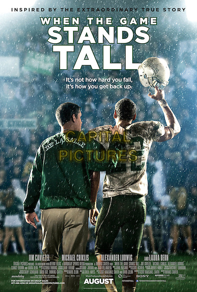 ONE SHEET POSTER ART<br /> in When the Game Stands Tall (2014) <br /> *Filmstill - Editorial Use Only*<br /> CAP/FB<br /> Image supplied by Capital Pictures