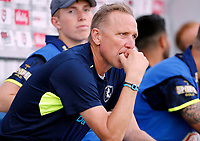 Kent assistant coach Allan Donald looks on during the T20 Quarter-Final game between Kent Spitfires and Lancashire Lightning at the St Lawrence ground, Canterbury, on Aug 23, 2018.