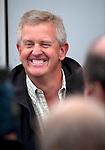 Pic Kenny Smith...... Tel 07809 450119.Johnnie Walker Championship, PGA Course Gleneagles, Day 2..Ryder cup captain Colin Montgomerie made an appearance at the event today along with one of his assistants Thomas Bjorn