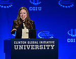 CORAL GABLES, FL - MARCH 07: Vice Chair of the Clinton Foundation Chelsea Clinton attend Clinton Global Initiative University at BankUnited Center on Saturday March 7, 2015 in Coral Gables, Florida. ( Photo by Johnny Louis / jlnphotography.com )