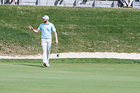 Sebastian Soderberg (SWE) made birdie on the 13th hole during final round at the Omega European Masters, Golf Club Crans-sur-Sierre, Crans-Montana, Valais, Switzerland. 01/09/19.<br /> Picture Stefano DiMaria / Golffile.ie<br /> <br /> All photo usage must carry mandatory copyright credit (© Golffile | Stefano DiMaria)