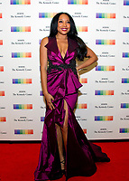 Singer Shelea Frazier arrives for the formal Artist's Dinner honoring the recipients of the 40th Annual Kennedy Center Honors hosted by United States Secretary of State Rex Tillerson at the US Department of State in Washington, D.C. on Saturday, December 2, 2017. The 2017 honorees are: American dancer and choreographer Carmen de Lavallade; Cuban American singer-songwriter and actress Gloria Estefan; American hip hop artist and entertainment icon LL COOL J; American television writer and producer Norman Lear; and American musician and record producer Lionel Richie. Photo Credit: Ron Sachs/CNP/AdMedia