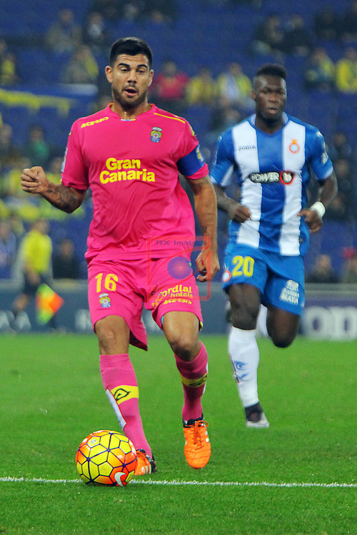 League BBVA 2015/2016 -Game: 16.<br /> RCD Espanyol vs UD Las Palmas: 1-0.<br /> Aythami.