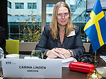 BRUSSELS - BELGIUM - 25 November 2016 -- European Training Foundation (ETF) Governing Board meeting. -- Carina Lindén, Deputy Director Division for Upper Secondary and Adult Education and Research Ministry of Education and Research. -- PHOTO: Juha ROININEN / EUP-IMAGES