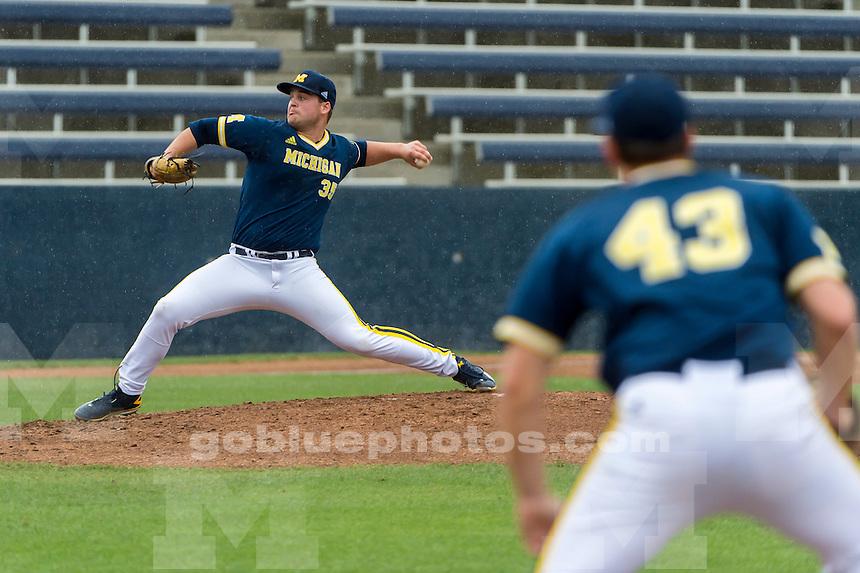 The Michigan Wolverines baseball team visits the UC Davis Aggies, Friday, March 4, 2016.<br /> Photo Brian Baer
