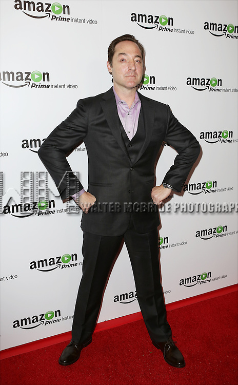 Brennan Brown attending the Amazon Red Carpet Premiere for 'Mozart in the Jungle' at Alice Tully Hall on December 2, 2014 in New York City.