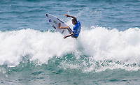 Huntington Beach, CA - Sunday August 06, 2017: Filipe Toledo during a World Surf League (WSL) Qualifying Series (QS) Semifinal heat in the 2017 Vans US Open of Surfing on the South side of the Huntington Beach pier.