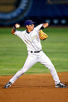 Joey Wong of the Tri-City Dust Devils in the Northwest League championship game against the Salem-Keizer Volcanoes at Volcanoes Stadium - 9/10/2009..Photo by:  Bill Mitchell/Four Seam Images..
