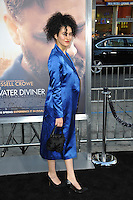 Opera star Delaram Kamareh at the Los Angeles premiere of &quot;The Water Diviner&quot; at the TCL Chinese Theatre, Hollywood.<br /> April 16, 2015  Los Angeles, CA<br /> Picture: Paul Smith / Featureflash