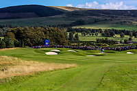 Looking down the 8th during Day 1 Fourball at the Solheim Cup 2019, Gleneagles Golf CLub, Auchterarder, Perthshire, Scotland. 13/09/2019.<br /> Picture Thos Caffrey / Golffile.ie<br /> <br /> All photo usage must carry mandatory copyright credit (© Golffile | Thos Caffrey)