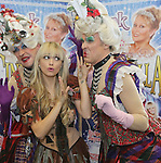 13/11/2012    Story Kathryn Hayes Attending the launch of the forthcoming Christmas Panto Cinderella at the UCH, Limerick the first fully professional Panto in the region were actors Richard Lynch asone of the ugly sisters to Cinderella Leanne Moore. Photograph Liam Burke/Press 22