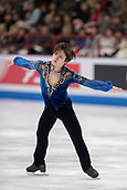 24th March 2018, Mediolanum Forum, Milan, Italy; ISU World Figure Skating Championships Milan 2018; Shoma Uno who came 2nd in mens solo