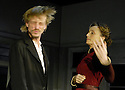 The Seagull by Anton Chekhov, directed by Ian Rickson with Kristin Scott Thomas as Arkadina,MacKenzie Crook as Konstantin. Opens at the The Royal Court Theatre on 25/1/07      CREDIT Geraint Lewis