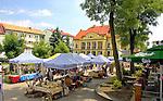 Mazury, 2006-05-07. Mikołajki - rynek - żeglarska stolica Polski