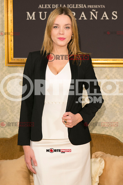 "Carolina Bang attend the presentation of the movie ""Musaranas"" in Madrid, Spain. December 17, 2014. (ALTERPHOTOS/Carlos Dafonte) /NortePhoto /NortePhoto.com"