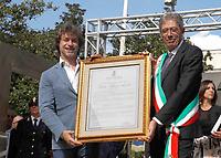 Alberto Angela cittadino onorario Pompei
