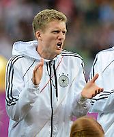 FUSSBALL  EUROPAMEISTERSCHAFT 2012   VIERTELFINALE Deutschland - Griechenland     22.06.2012 Andre Schuerrle (Deutschland) emotional