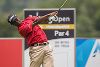 Irvin Mazibuko during the first round of the Joburg Open, Randpark Golf Club, Johannesburg, Gauteng, South Africa. 07/12/2017<br /> Picture: Golffile | Tyrone Winfield<br /> <br /> <br /> All photo usage must carry mandatory copyright credit (&copy; Golffile | Tyrone Winfield)