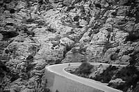 coming up from Sa Calobra<br /> <br /> Lotto-Belisol jan 2014 trainingcamp<br /> Mallorca