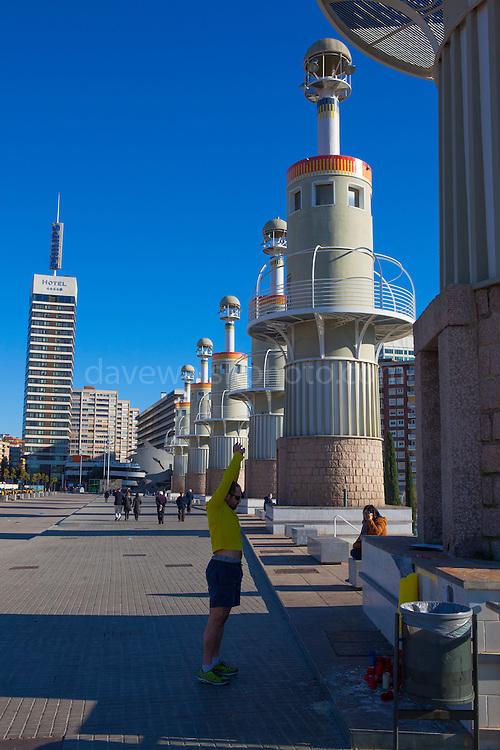 Parc de l'Espanya Industrial, Barcelona, Catalonia, Spain