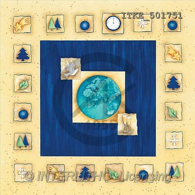 Isabella, CHRISTMAS SYMBOLS, corporate, paintings(ITKE501751,#XX#) Symbole, Weihnachten, Geschäft, símbolos, Navidad, corporativos, illustrations, pinturas