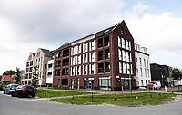 Nederland - Almere- 2019. Wijk Nobelhorst. De Melkfabriek. Appartementencomplex.  Foto Berlinda van Dam / Hollandse Hoogte