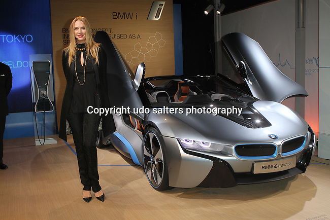 "Uma Thurman  Attends BMW i ""Born Electric"" World Tour Opening Night Party, NY 11/12/12"