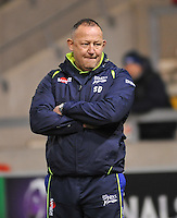 Director of Rugby Steve Diamond during the European Rugby Champions Cup match between Sale Sharks and Saracens at AJ Bell Stadium, Salford, England on 18 December 2016. Photo by Paul Bell.