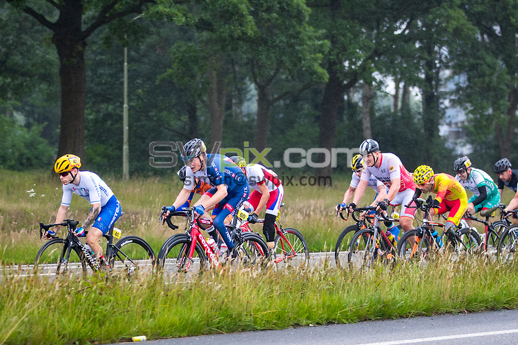 Picture by Alex Whitehead/SWpix.com - 02/07/2017 - Cycling - UCI Para-Cycling Road World Cup - Emmen, Drenthe, Netherlands - Great Britain's Simon Price wins Gold in the Men's C2 Road Race.