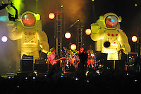 Primus in Concert. Headlining Act Saturday 31 July 2010 at the Gathering of the Vibes. Seaside Park, Bridgeport CT