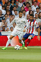 13.09.2014 SPAIN -  La Liga 14/15 Matchday 03th  match played between Real Madrid CF vs Atletico de Madrid Bernabeu stadium. The picture show Cristiano Ronaldo (Portuguese forward of Real Madrid)