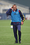 20 November 2009: Head coach Jason Kreis took part in the practice session. Real Salt Lake held a training session and press conference at Qwest Field in Seattle, Washington in preparation for playing the Los Angeles Galaxy in Major League Soccer's championship game, MLS Cup 2009, two days later.