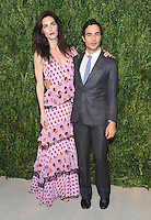 NEW YORK, NY - NOVEMBER 07:Hilary Rhoda and Zac Posen attends 13th Annual CFDA/Vogue Fashion Fund Awards at Spring Studios on November 7, 2016 in New York City. Photo by John Palmer/ MediaPunch