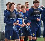 19.3.2018: Scotland u21 training:<br /> Harvey St Clair