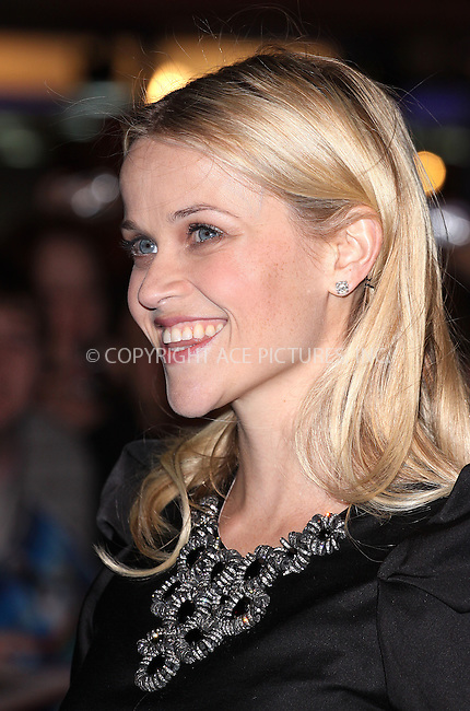 """Reese Witherspoon at the UK premiere of """"Monsters vs Aliens"""" held at Vue West End in London - 11 March 09 ..FAMOUS PICTURES AND FEATURES AGENCY 13 HARWOOD ROAD LONDON SW6 4QP UNITED KINGDOM tel +44 (0) 20 7731 9333 fax +44 (0) 20 7731 9330 e-mail info@famous.uk.com www.famous.uk.com .FAM25446"""
