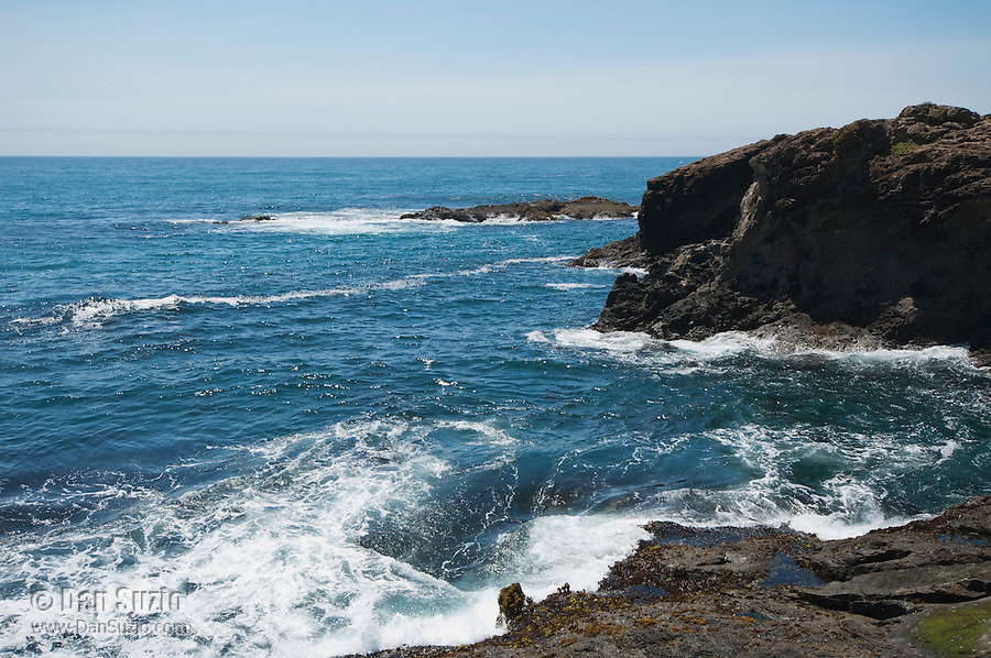 Pacific coast at Mendocino, California
